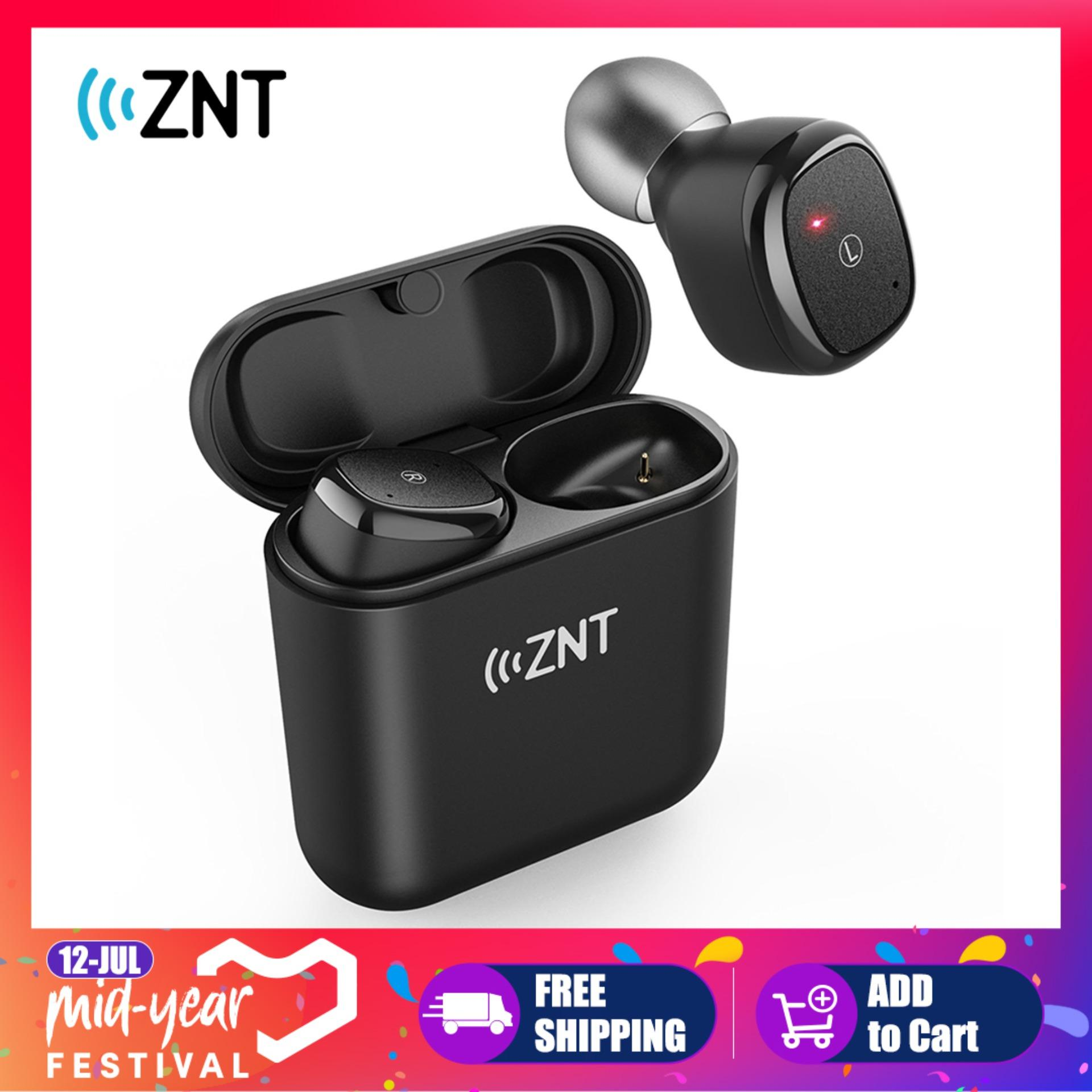 8d4c0f23daa ZNT D06-L True Wireless Earbuds with Bluetooth 5.0 and Hi-Fi Sound Quality