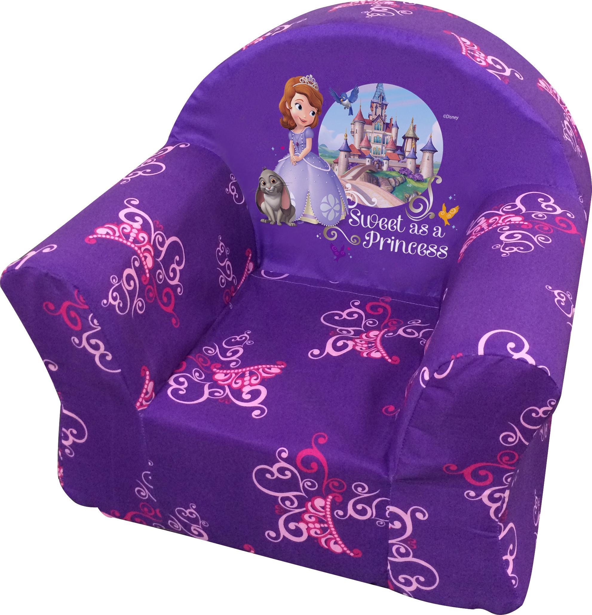 Surprising Disney Kiddie Sofa Sofia Small Inzonedesignstudio Interior Chair Design Inzonedesignstudiocom