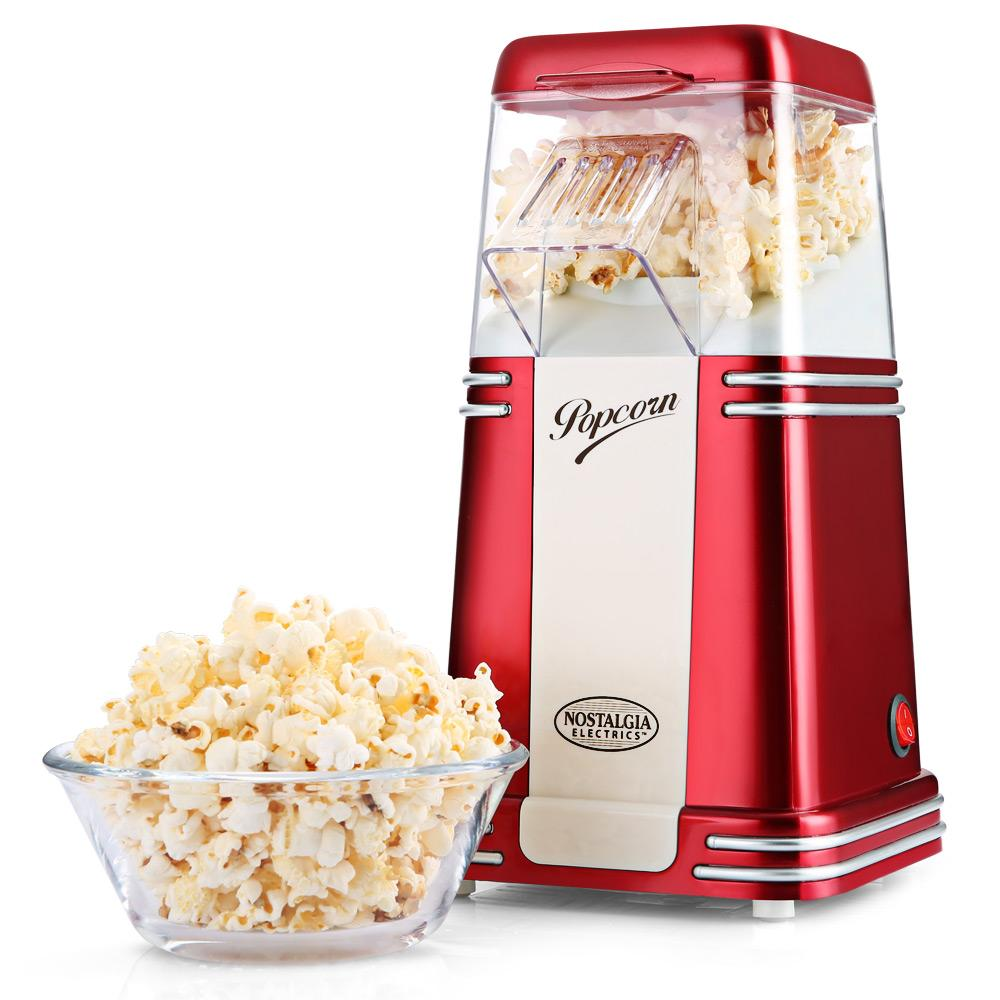 Nostalgia Electrics Hot Air Popcorn Maker Corn Popper Machine With Transparent Housing - Intl By Yinte.