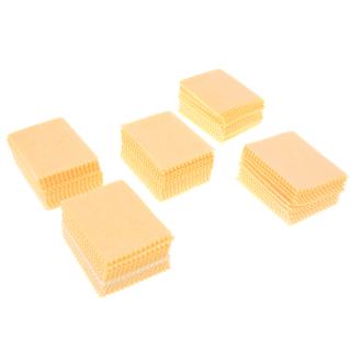 100 Miếng Vải Lau Vi Sợi Màu Vàng Cho Máy Tính Bảng Điện Thoại Di Động Màn Hình LCD Máy Tính Xách Tay thumbnail