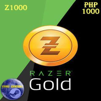 Razer Gold Direct Top-Up PIN (PH)-(1000)