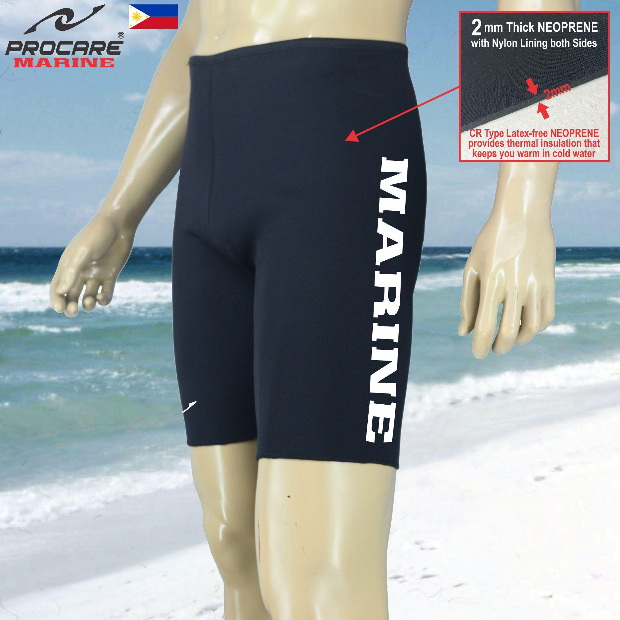 324df6271a PROCARE MARINE  8454 Men Neoprene Wetsuit Shorts 2mm Thick Neoprene for  Swiming Diving Snorkeling Surfing
