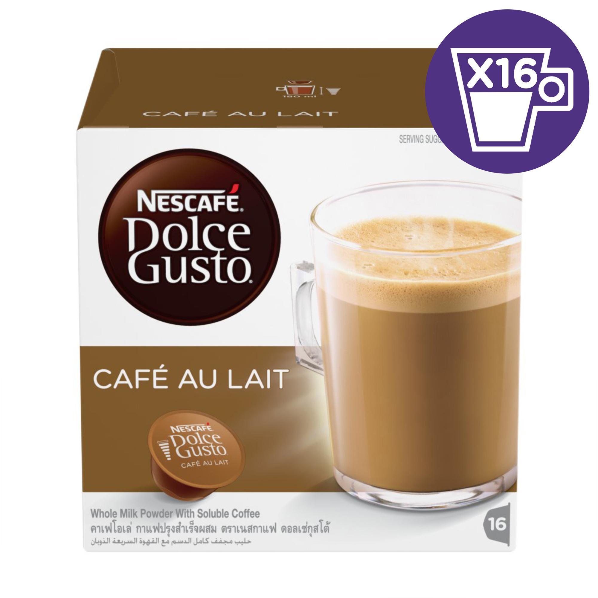 NescafÉ Dolce Gusto Capsule Cafe Au Lait By NescafÉ Dolce Gusto.
