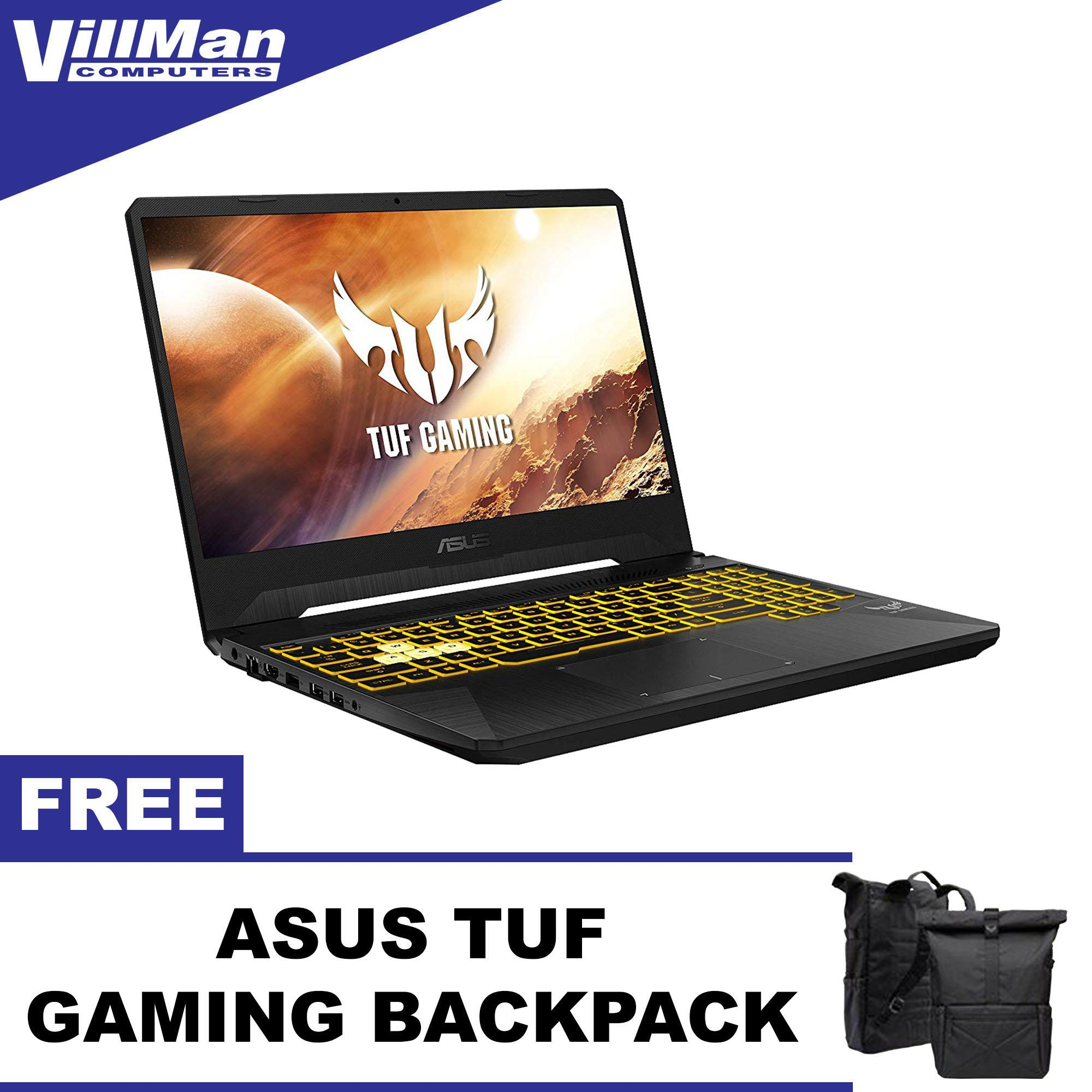 Asus TUF FX505DD-AL233T, 15 6In FHD 120Hz, AMD R5 3550 CPU, 8GB RAM, 1TB  HDD, GTX1050 3GB, Windows 10 Gaming Laptop with Free TUF Gaming Backpack