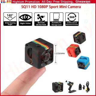 Camera Highmax SQ11 Chính Hãng Camera Ghi Âm Không Dây Mini Camera Giám Sát An Ninh Gia Đình Tầm Nhìn Ban Đêm HD 1080P Camera Thể Thao Chuyển Động DV Camera Ẩn Cảm Biến HD, Camera Mini DVR thumbnail