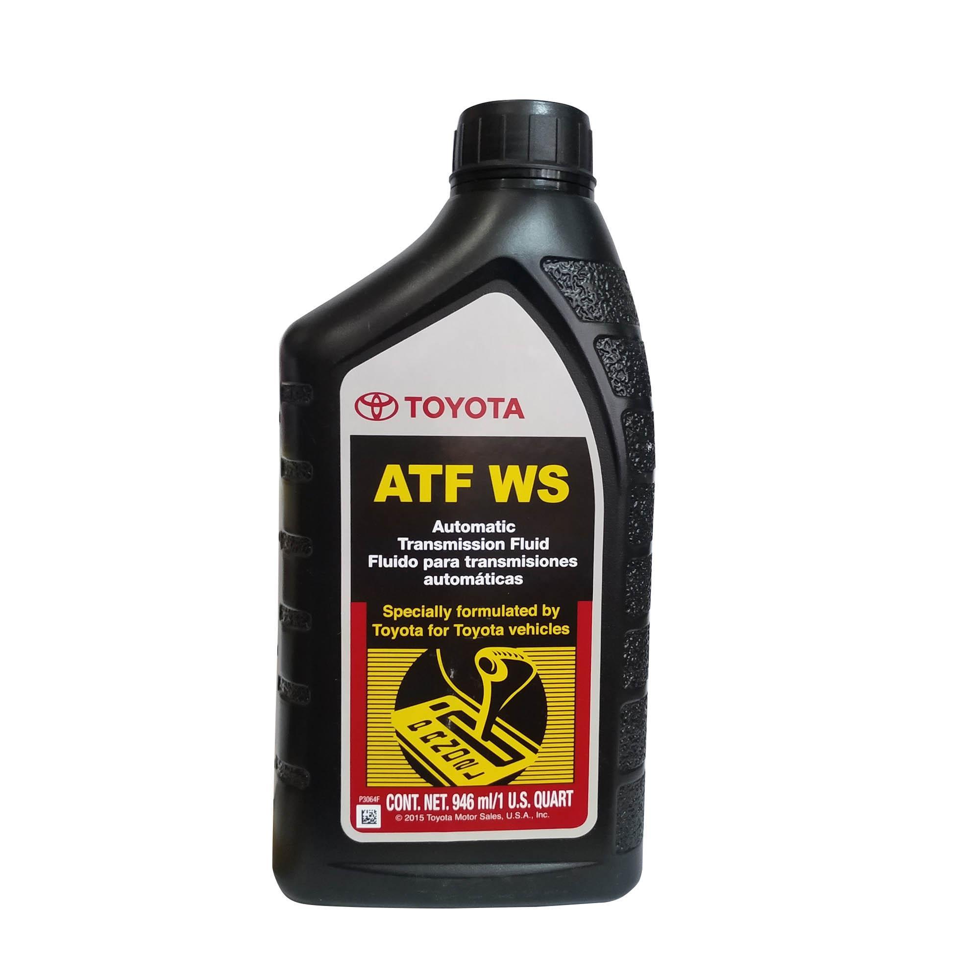 Toyota ATF WS ( Automatic Transmission Fluid ) 1L ( 1 Liter )