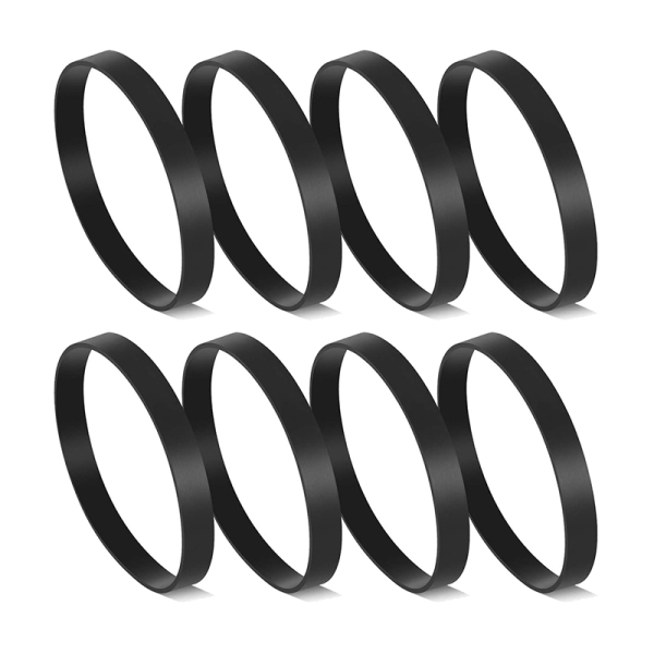 8 Pcs Replacement Belts for Bissell Style 7,9,10,12,14,16 Vacuum Cleaner, Compared to Parts 3031120, 2031093 & 32074