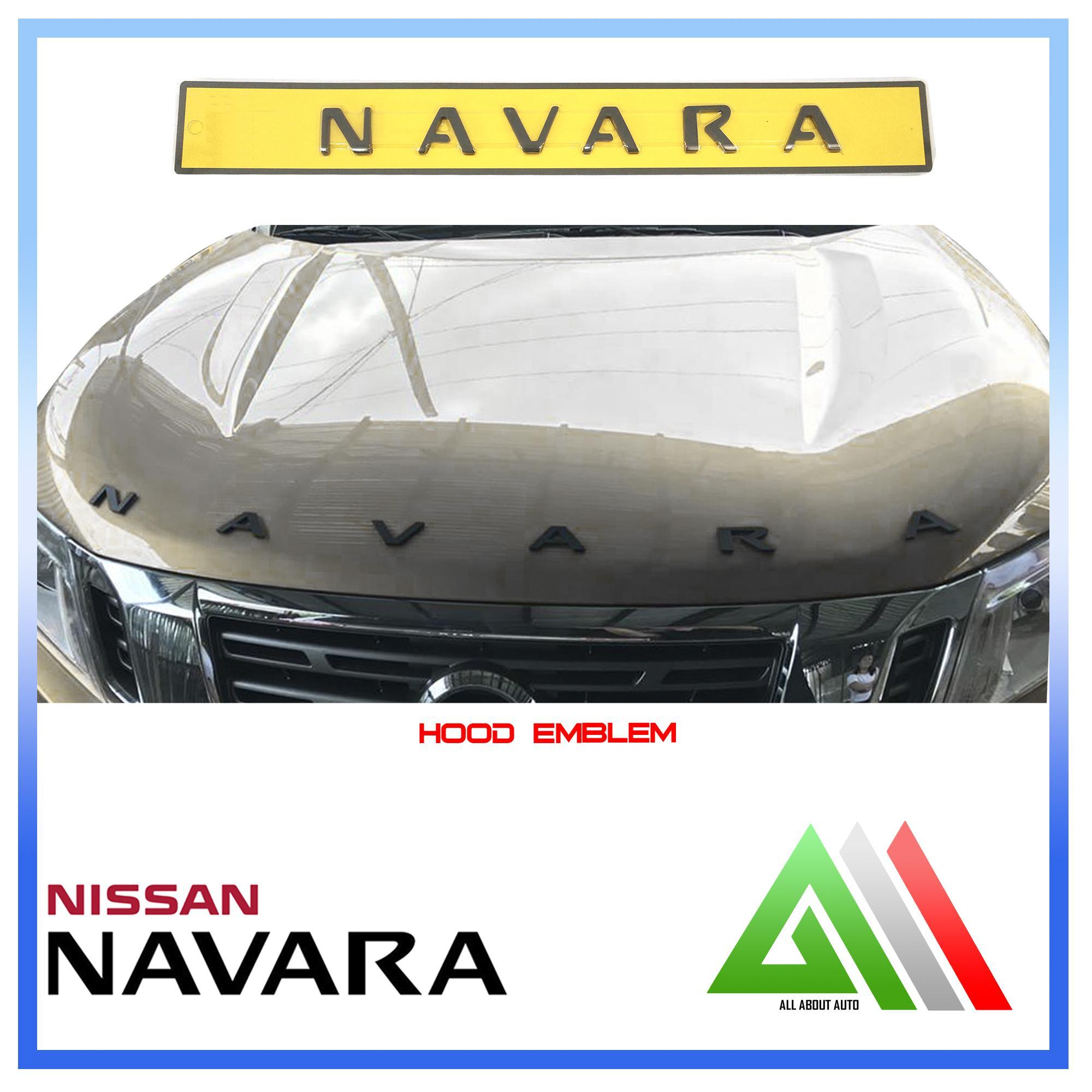 Hood Emblem for Nissan Navara (Matte Black)