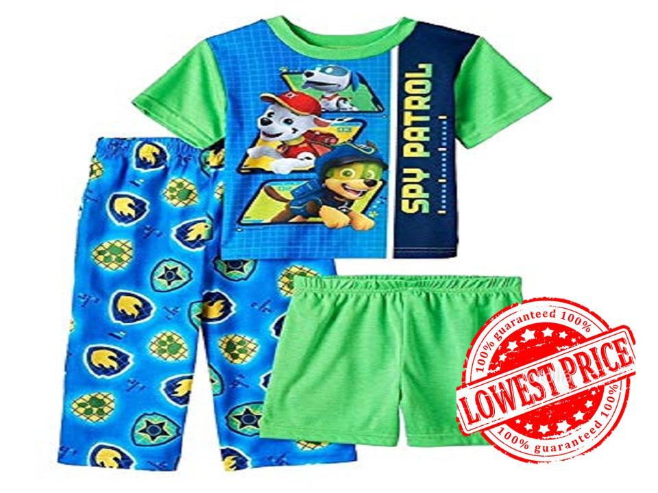 Paw Patrol 3 Piece Pajamas Set Big Discounts!!! By Discount Store.