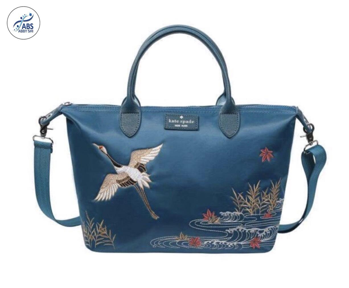 2b48583d12 ABS ABSL  619 KS Classic Ladies Nylon Bag Popular Embroidery Nylon Bag