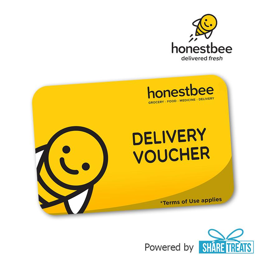 Honestbee Free Delivery Voucher (sms Evoucher) By Share Treats.