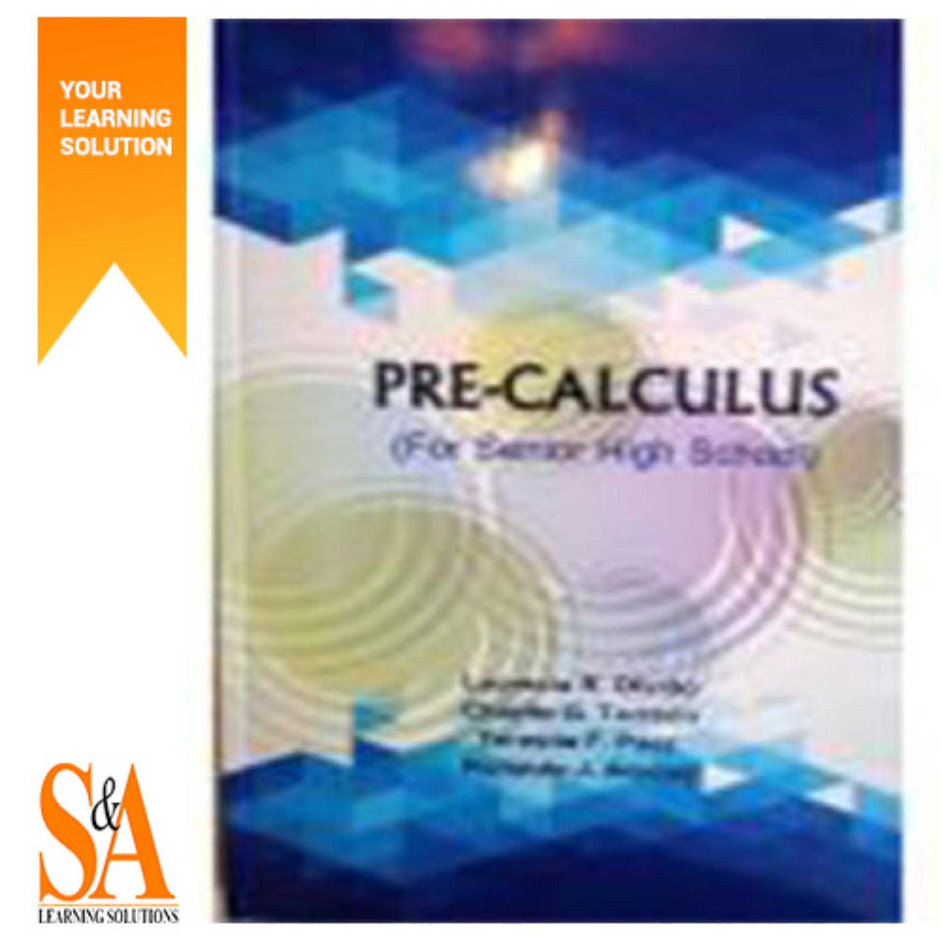 Pre-Calculus (For Senior High School)
