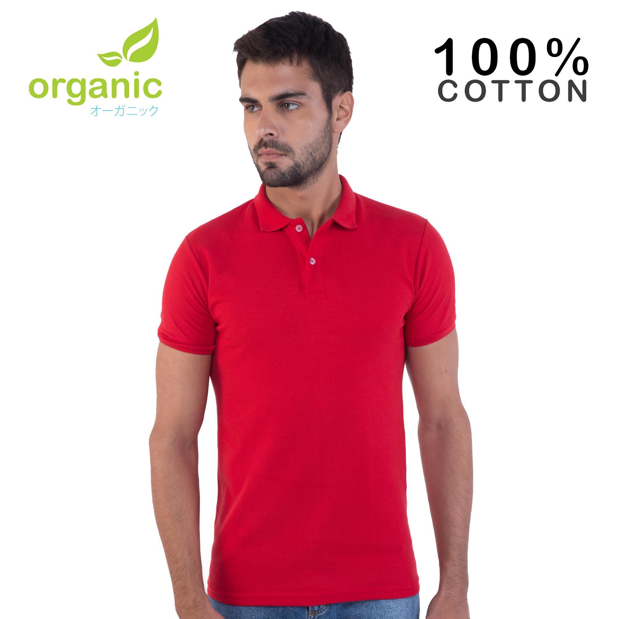 c955fa5a106 Organic Mens Pique Polo Shirt Tees t shirt tshirt shirts tshirts tee tops  top for men
