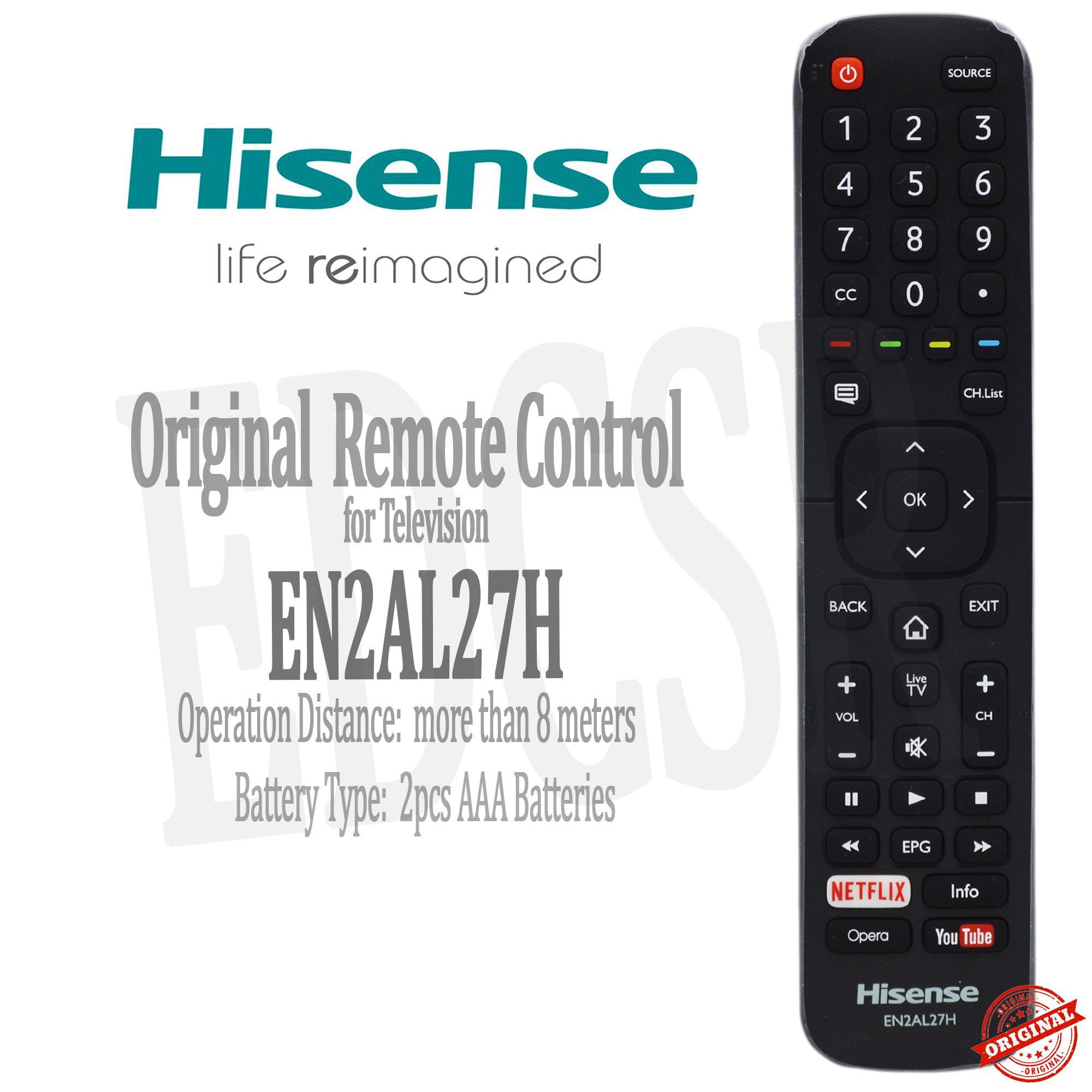 Hisense -EN2AL27H - Orginal Remote Control for Television