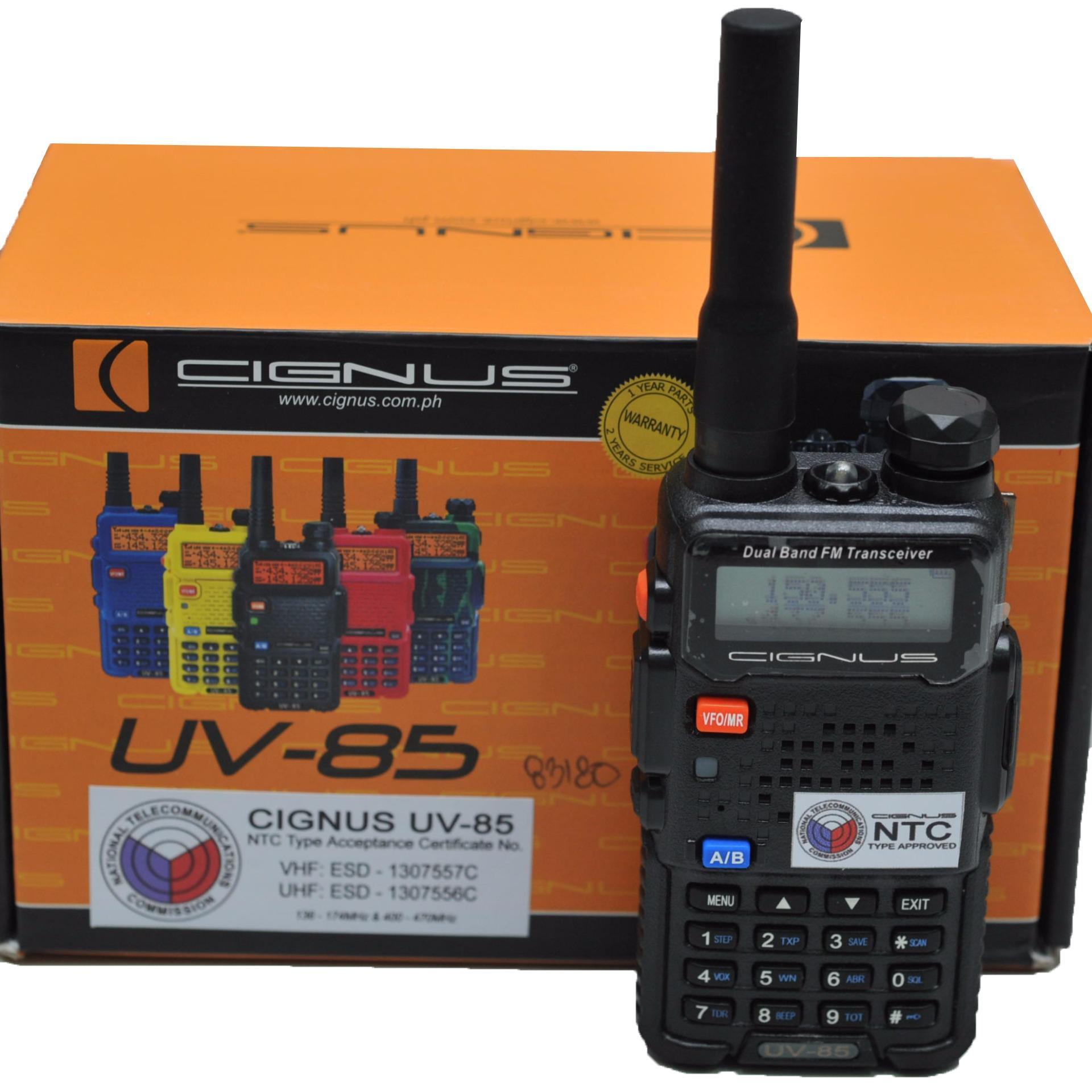 CIGNUS UV85 PORTABLE TWO WAY RADIO