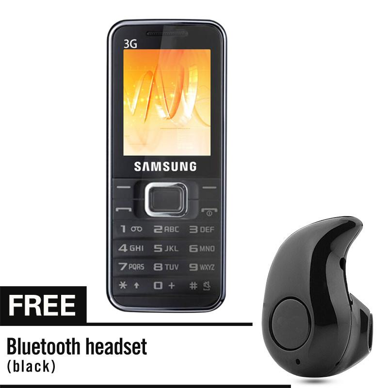 Samsung E3210 1.77 Inch SIM Card Cellphone Ultra Thin Mobile phone Camera Big Character For elder with Free Bluetooth Headset