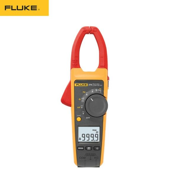 Fluke 376 True RMS 1000A AC/DC Clamp Meter with A NIST-Traceable Calibration Certificate