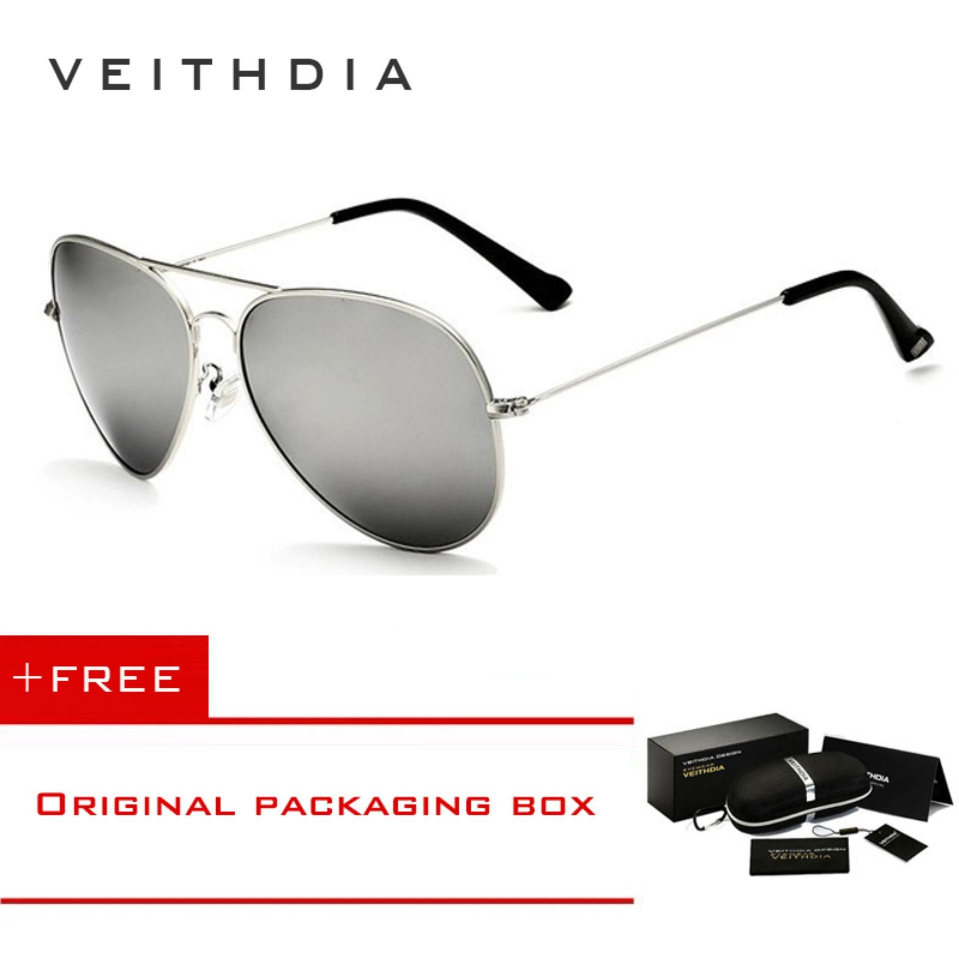 92e2c00c3e VEITHDIA Classic Fashion Polarized Sunglasses Men Women Eyewear Accessories  Sun Glasses 3026