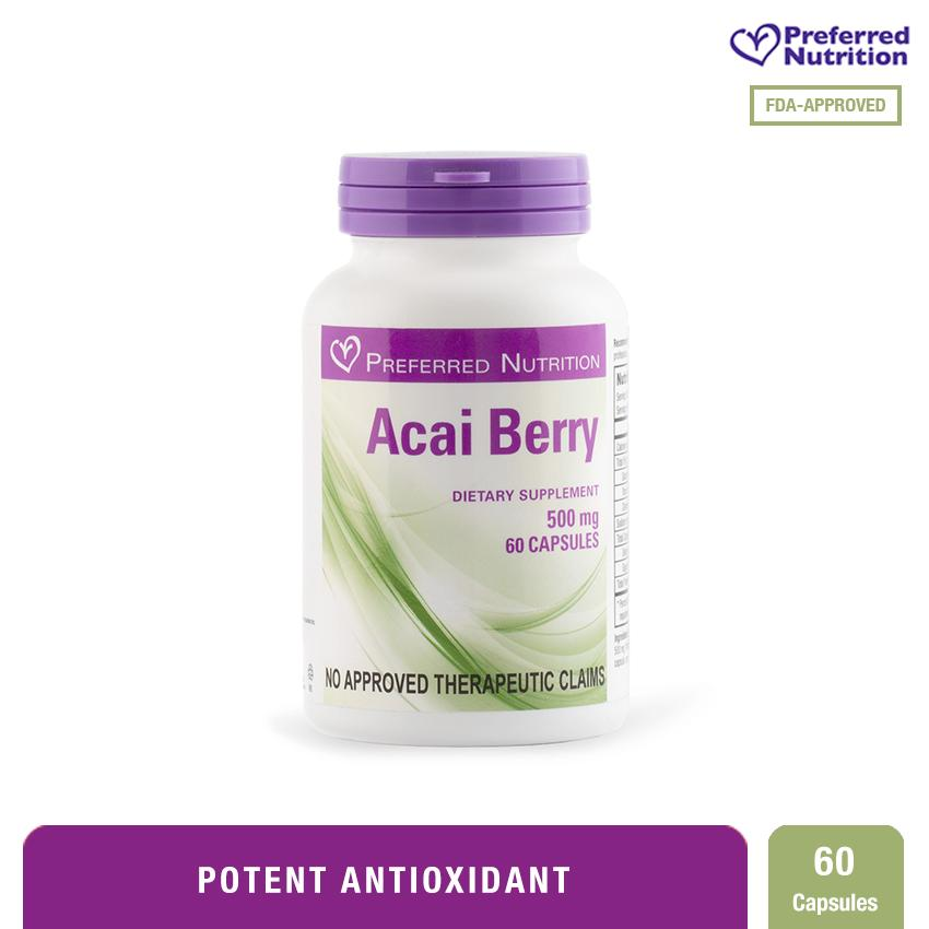 Preferred Nutrition Acai Berry 500 mg