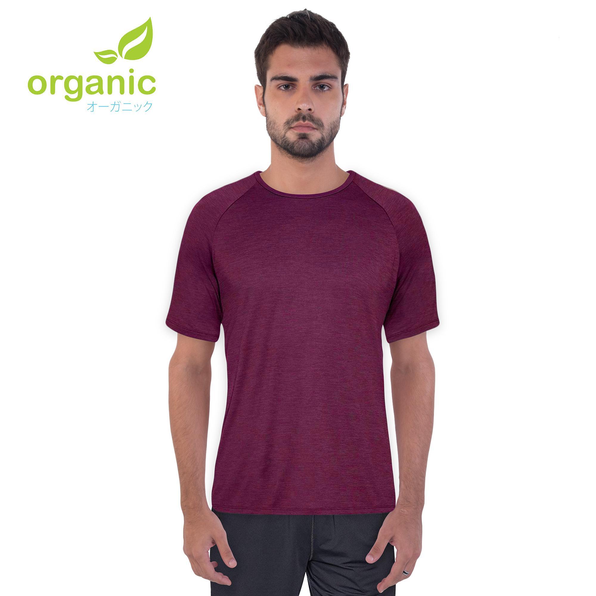 5dd59bc6137 Organic Men Cool Gear Active Sports Wear Shirt Gym Training Dry Dri Fit  Fitness Gym Shirt