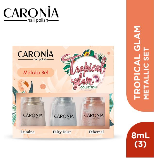 Caronia Tropical Glam Collection - Metallic Set By Caronia Philippines.