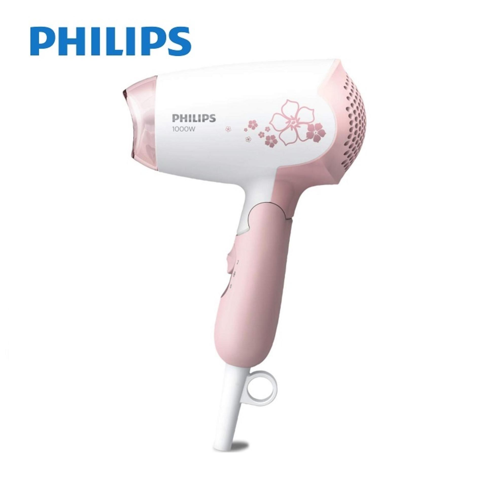 Philips HP8108/03 Hairdryer (White/Pink)