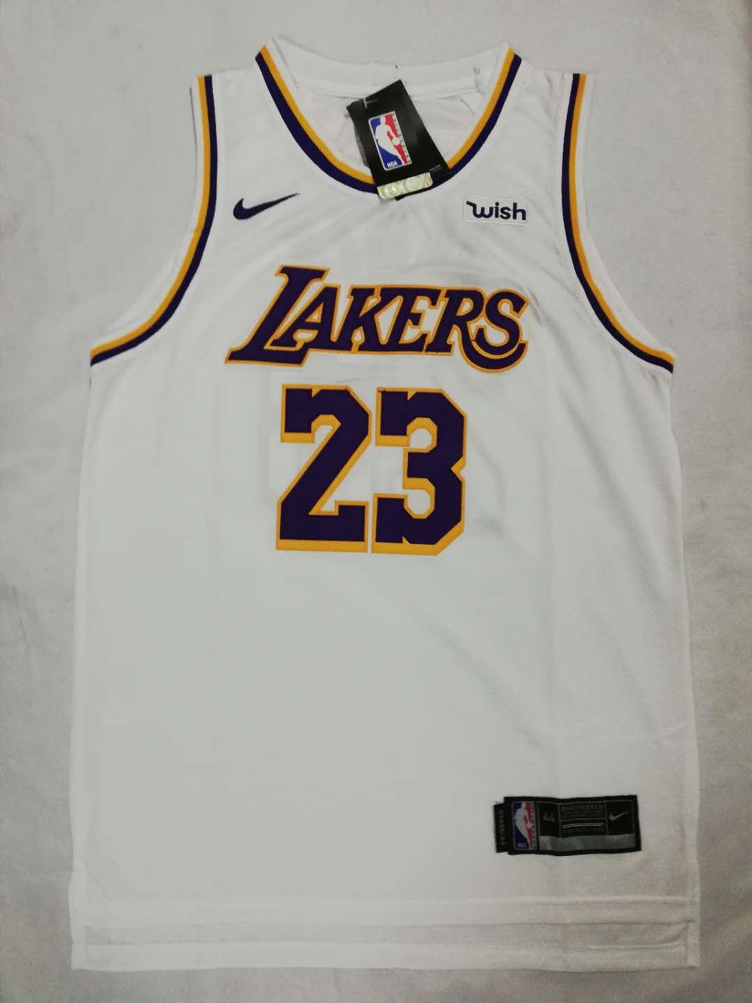 super popular d81ef 3f92b Lakers 23 Lebron James City Edition Swingman Jersey