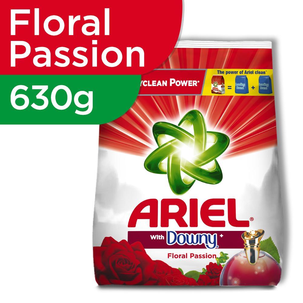 Ariel Floral Passion Powder Detergent 630g