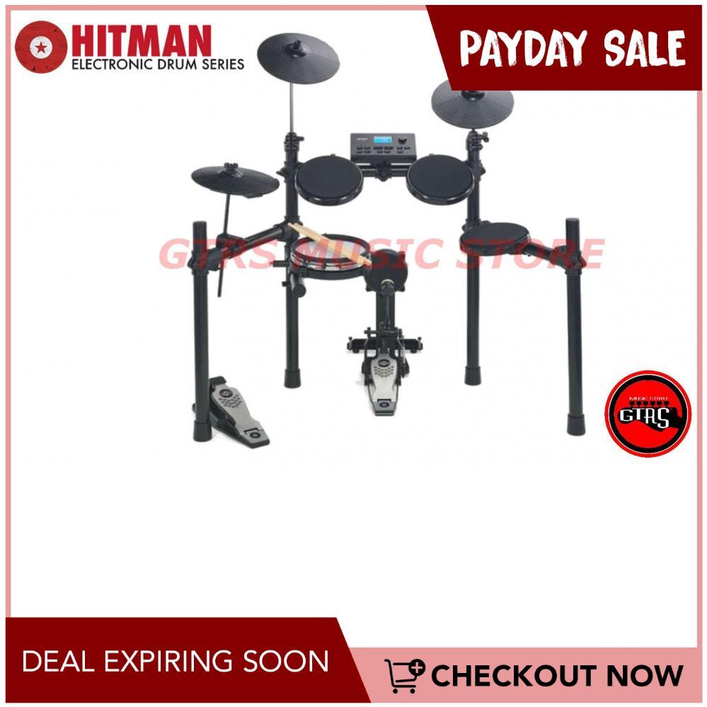 Hitman HD-17 Mako Electronic Drum Set