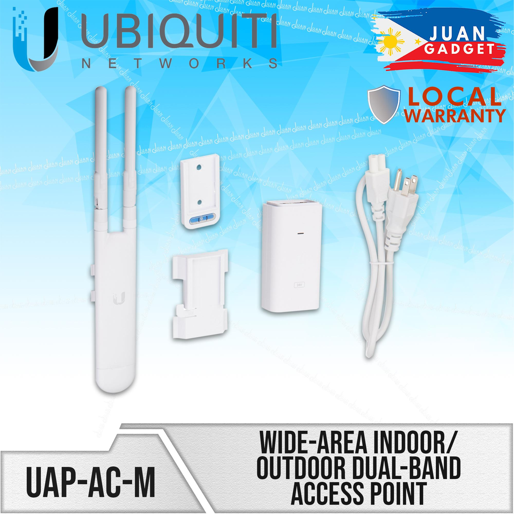 Ubiquiti Networks UAP-AC-M UniFi AC Mesh Wide-Area Indoor/Outdoor Dual-Band  Access Point