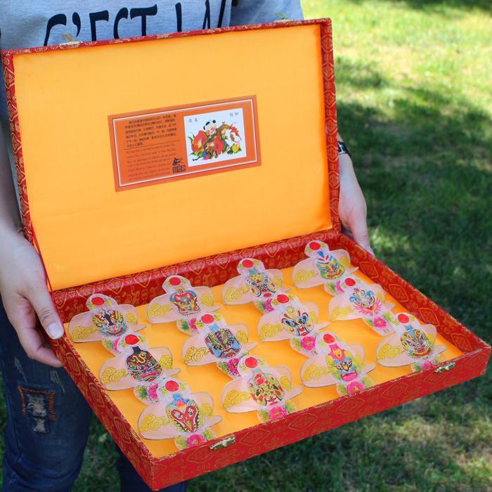 Weifang Kite Chinese Zodiac Facial Makeup/Gift Box Gift Kite