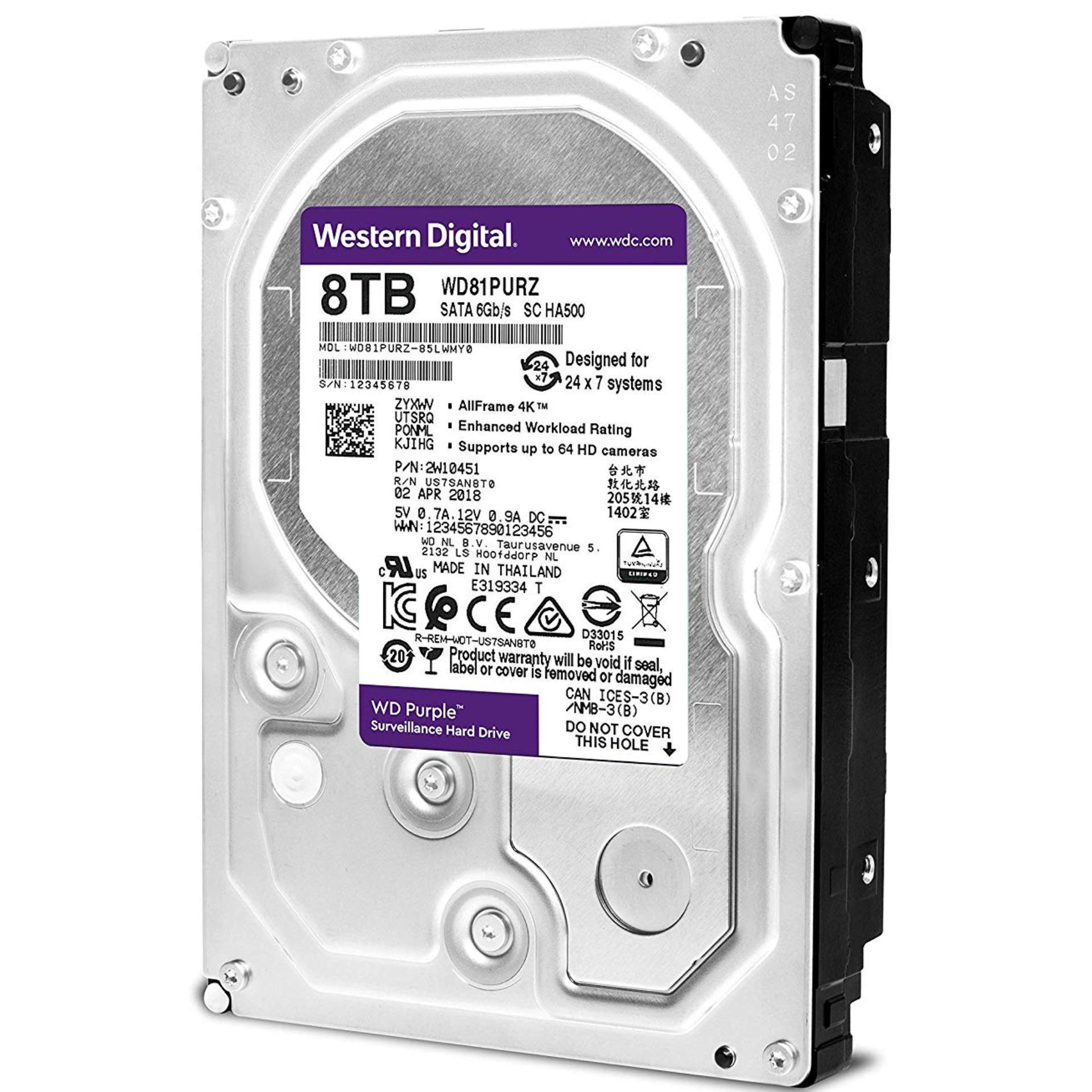 Western Digital WD Purple 8TB (Surveillance)