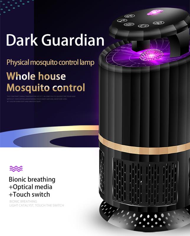 Slayhot-【Cod + Giao Hàng Miễn Phí】 Đèn Diệt Muỗi LED Đuổi Muỗi Điện Di Động Dùng Nguồn USB Côn Trùng Dịch Hại Bắt Chuột Trong Nhà Bẫy Muỗi Ngoài Trời Trong Nhà Tắt Tiếng Không Độc Hại