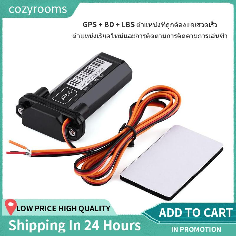 【HIGH QUALITY】9-80V Car Vehicle Real-Time GPS GSM GPRS Tracker Tracking  System Global Locator Device