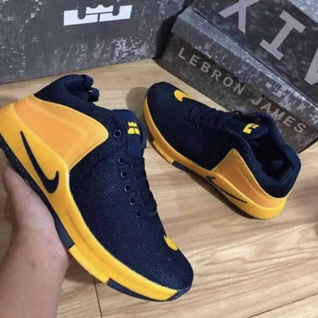 Nike Lebron James Witness1 Basketball Shoes For Men 601 Blue Yellow Non Slip Wear Resistant Rubber Sole Lazada Ph