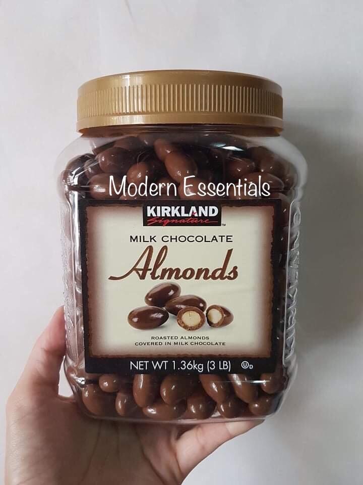Kirkland Signature Milk Chocolate Almonds 3 Lbs