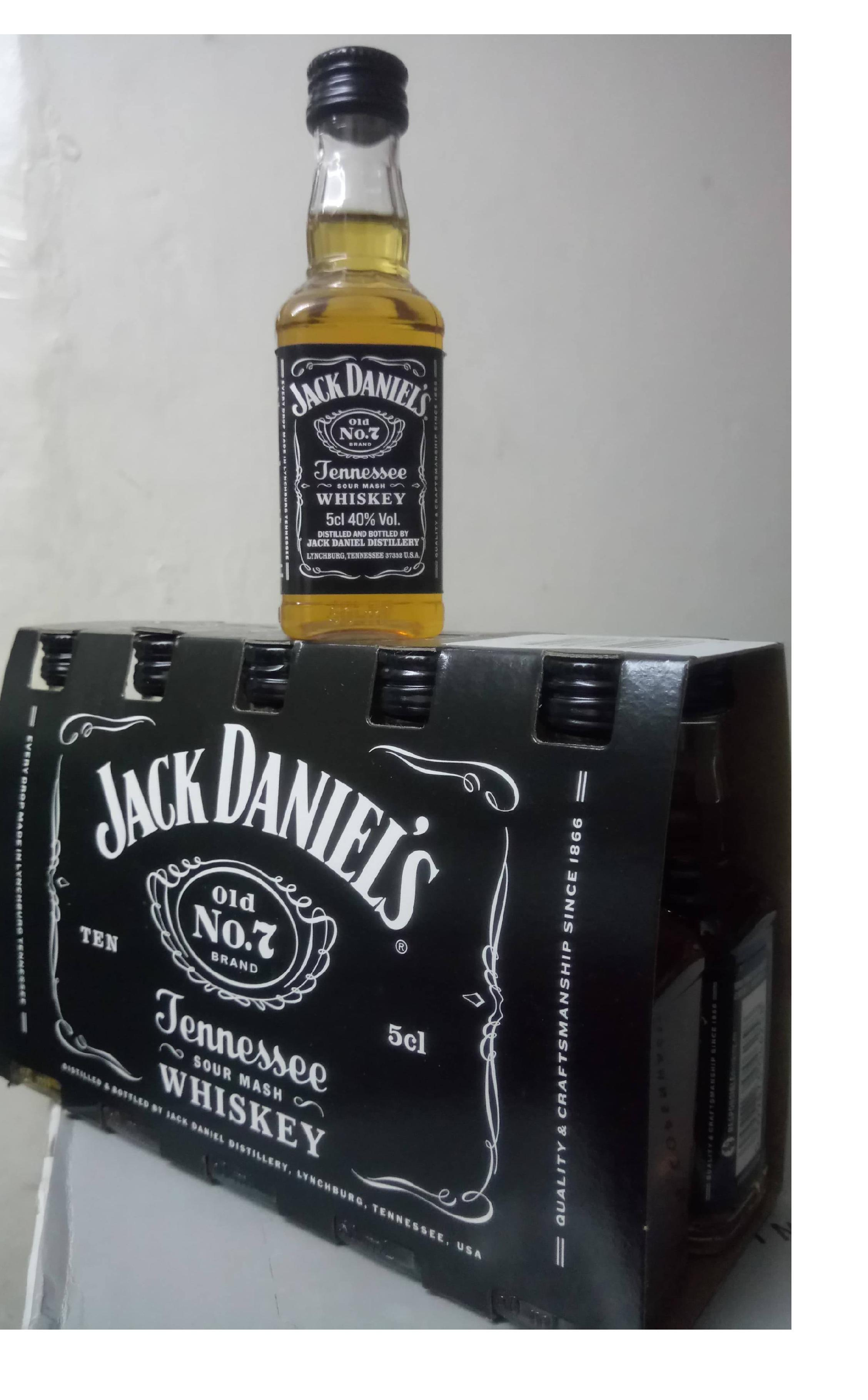 Jack Daniel's Mini 40% Pet 5cl (50ml)
