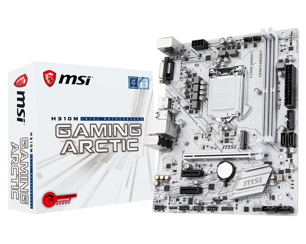 MSI H310M GAMING ARCTIC 8TH GEN Motherboard