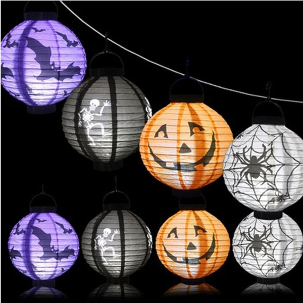 Bảng giá JVSYPA, Mạnh Mẽ Hộp Đựng Bí Ngô Trang Trí Halloween Trong Người Có Đèn LED Treo Tường Đồ Dùng Cho Bữa Tiệc Halloween