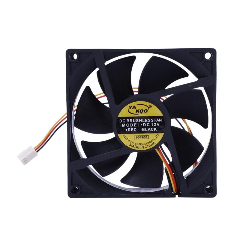 Bảng giá 3 Pin 90mm 25mm Cooler Fan Heatsink Cooling Radiator For Computer PC CPU 12V Phong Vũ