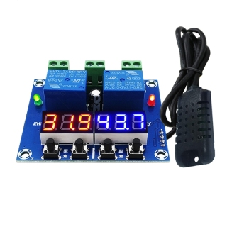 XH-M452 Temperature and Humidity Control Module Digital Display Dual Output, Automatic Constant Temperature and Humidity thumbnail