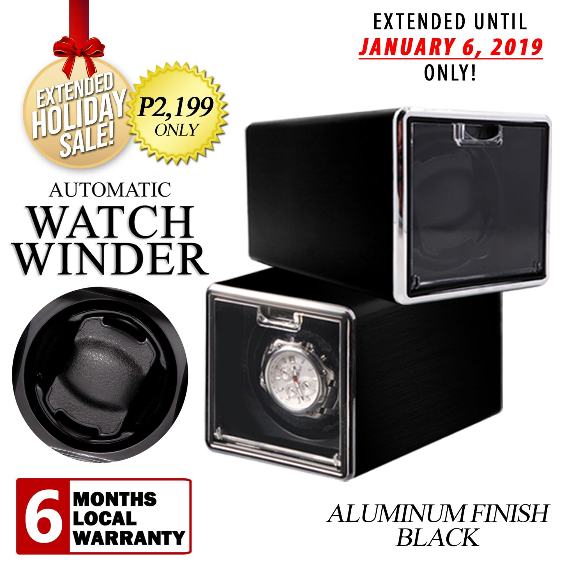 Single Automatic Rotation Watch Winder (BLACK)