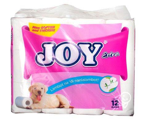 Joy Bathroom Tissue 2 Ply 12 Rolls By Happy Home 99.