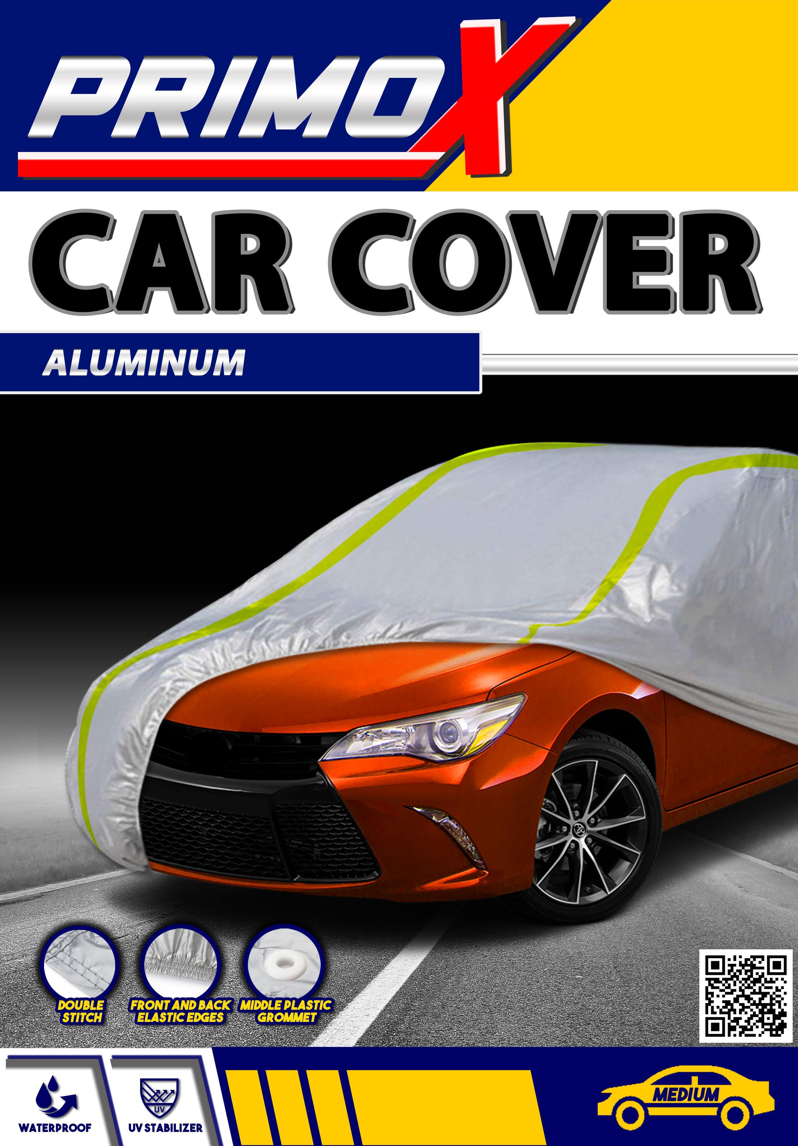 Waterproof Aluminum Car Cover for Medium Cars