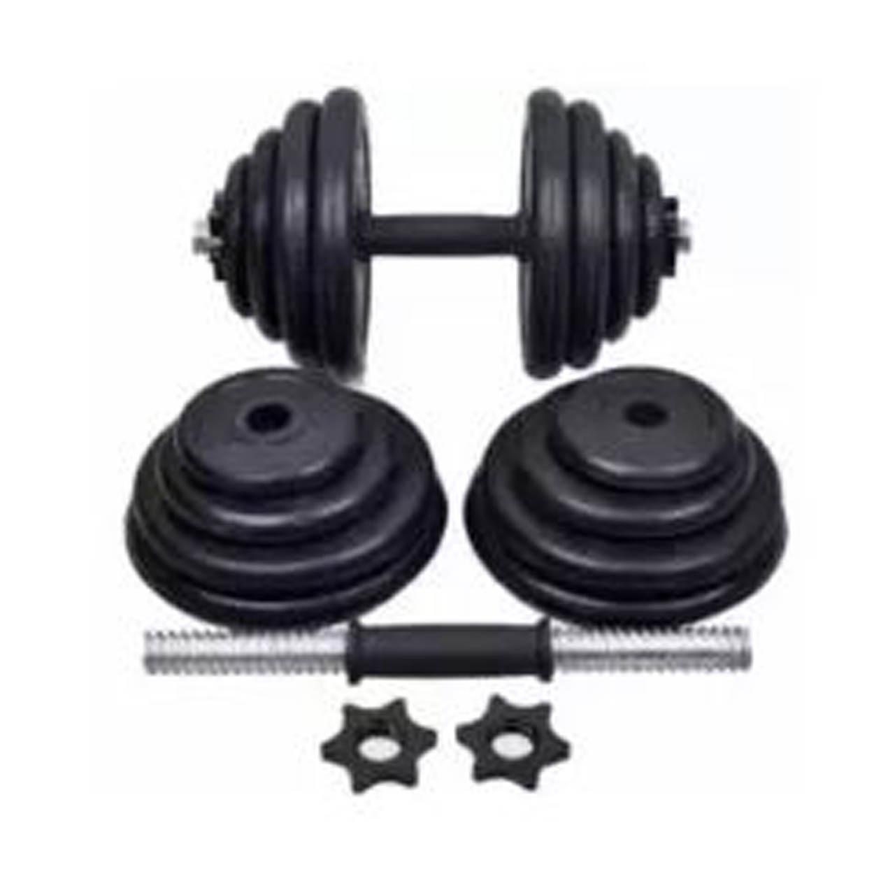 New Dumbell Set 30kg Gym Fitness image on snachetto.com