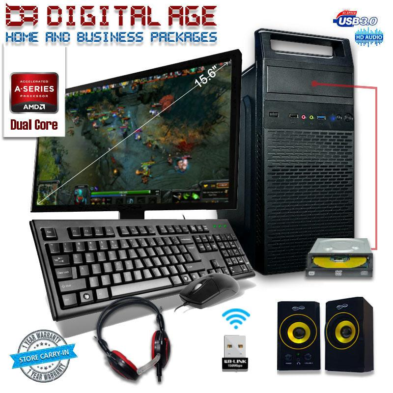 Fortress Entry Level-WDVD Gaming PC Package