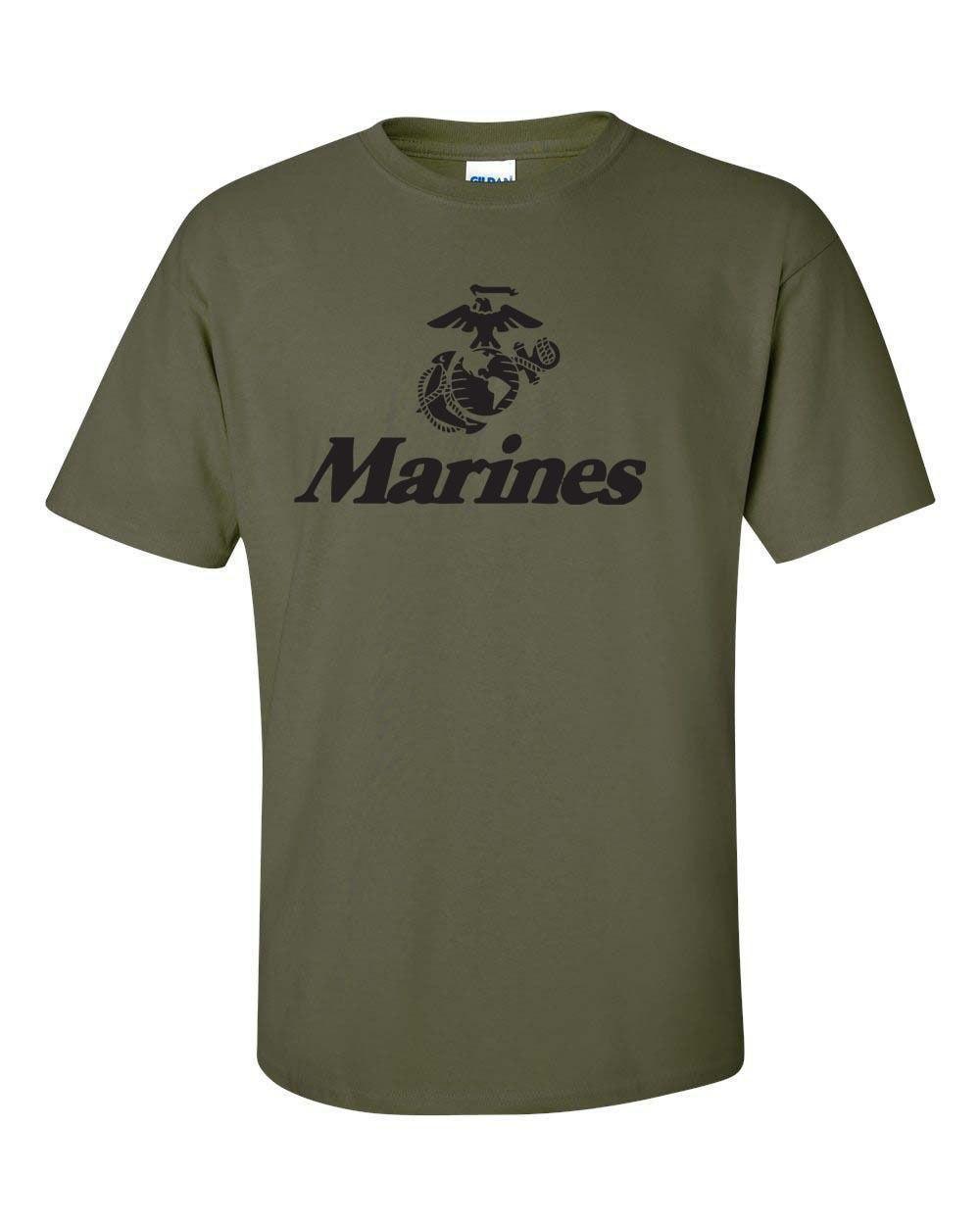 b04767f0d93e8d 2018 Fashion Cotton T-shirt Marine Corps U.S. United States Marines USMC  Military Men s Tee