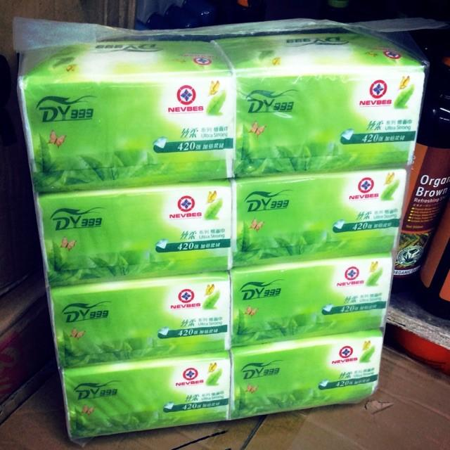 Dy 999 Sanitary Tissue Paper 420sheets ( 8 Pks/bag) By Jubilee.