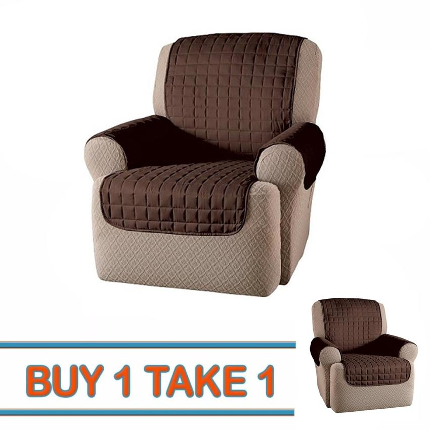 Buy 1 Take 1 - Single Seater Couch Coat Reversible Waterproof Slipcover Sofa Cover By Jdl Gen Mdse.