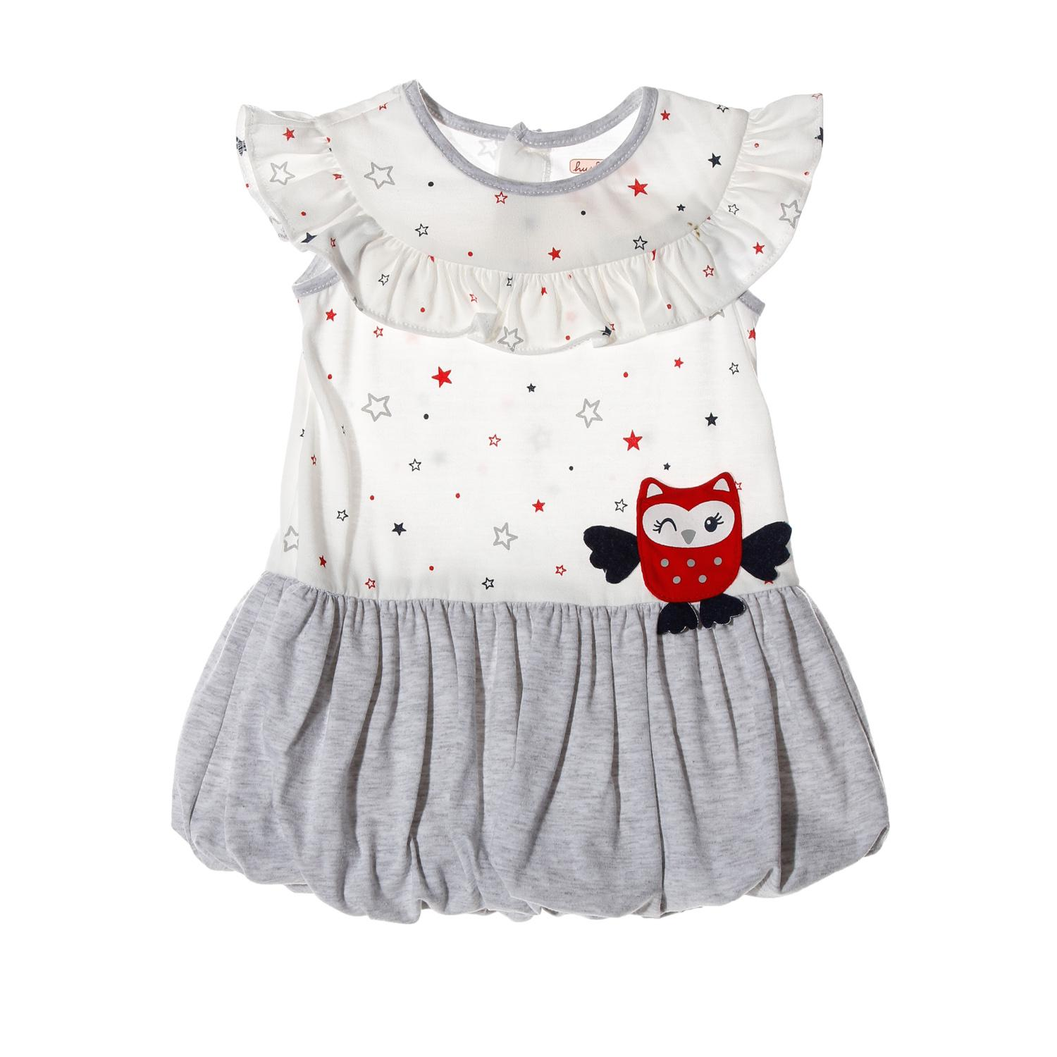Hush Hush Baby Girls Owl Bubble Dress In White By The Sm Store.